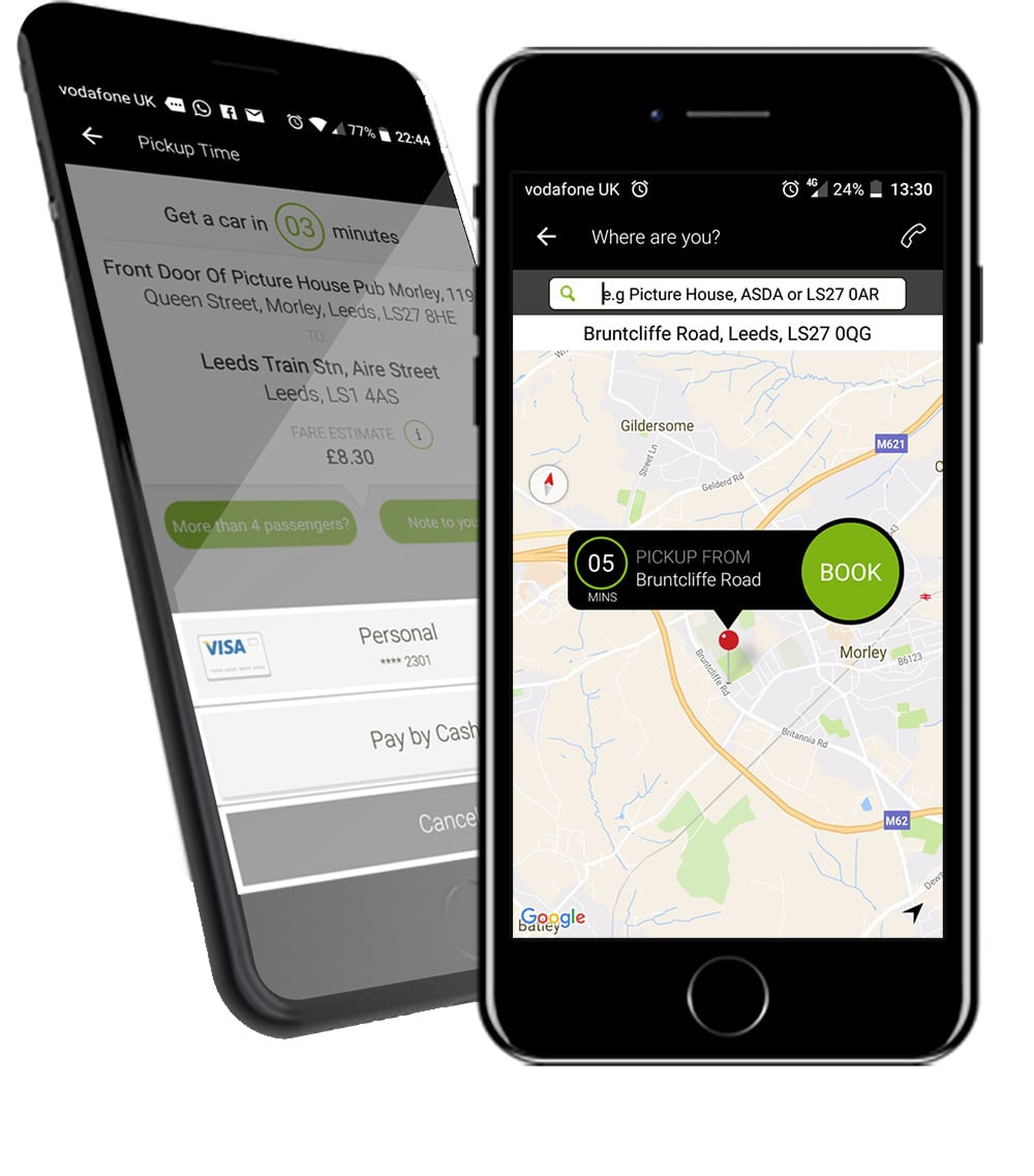 Central Morley Cars - Download the App